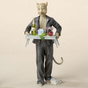 ALLEY CATS - 2- 8-alley-cats-dante-breakfast-in-bed-ornamental-table-top-figurine