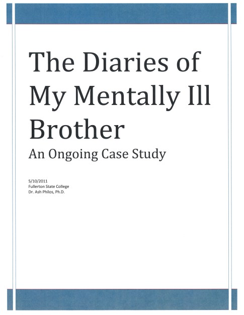 THE DIARIES OF MY MENTALLY ILL BROTHER_cover_062714a