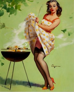 hot_barbecue_time_retro_pin_up_girl_poster-CROP1