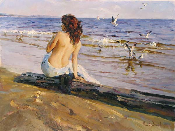 139O0272C Beauty on the Shore 30x40